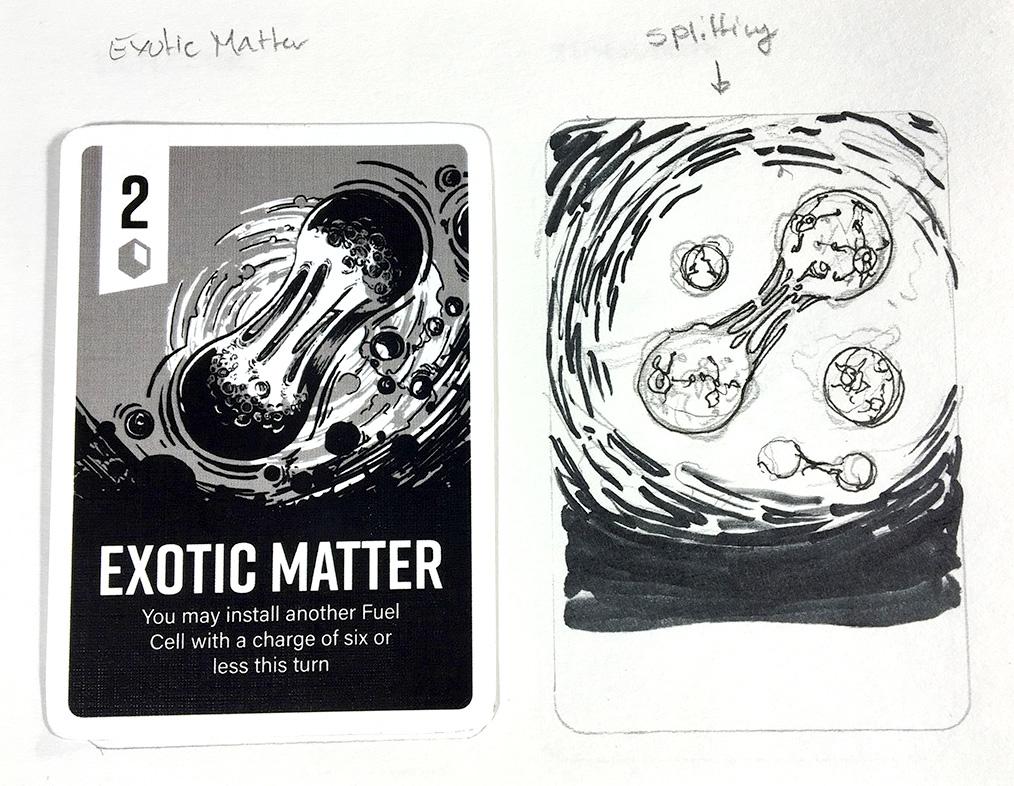Exotic matter_concept sketch_closeup