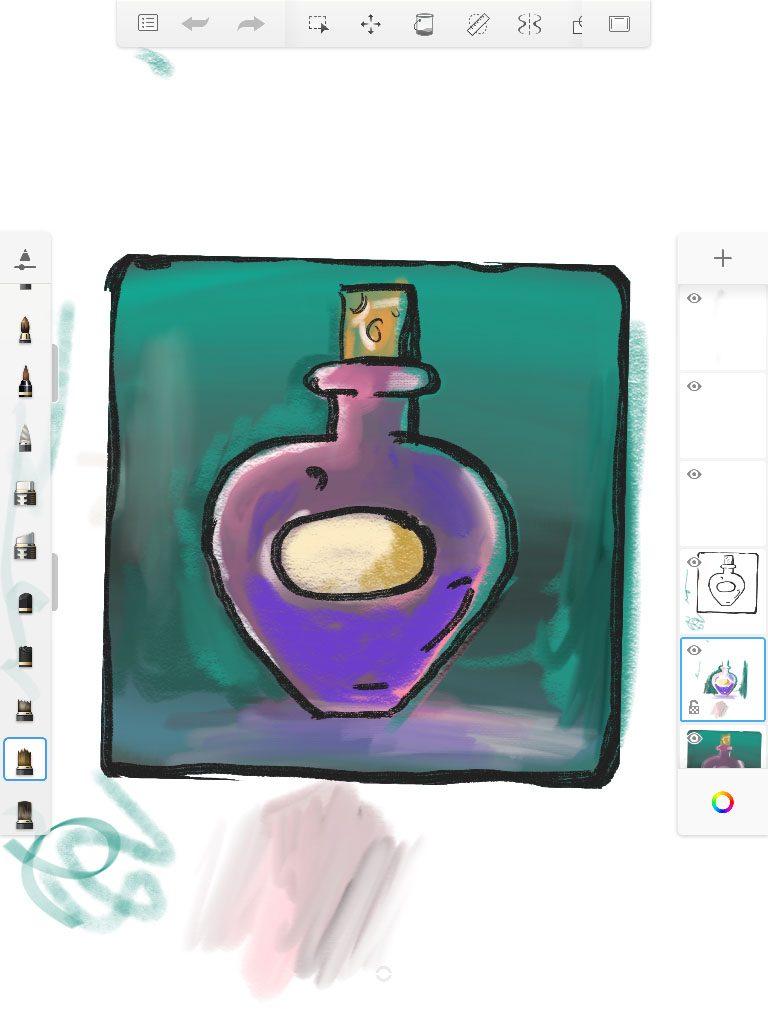 5+ Best apps for making tablet art - GreenHookGames